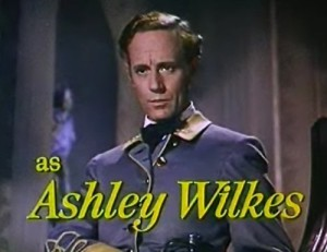 Leslie Howard as Ashley Wilkes in 1939's technicolor extravaganza 'Gone withe the Wind' by Victor Fleming