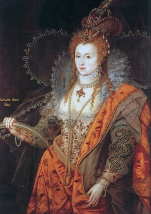 Elizabeth I. The Rainbow Portrait, c. 1600 Attributed to Isaac Oliver